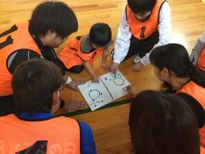 【スポーツ鬼ごっこ3級ライセンス研修会】6歳と作戦会議