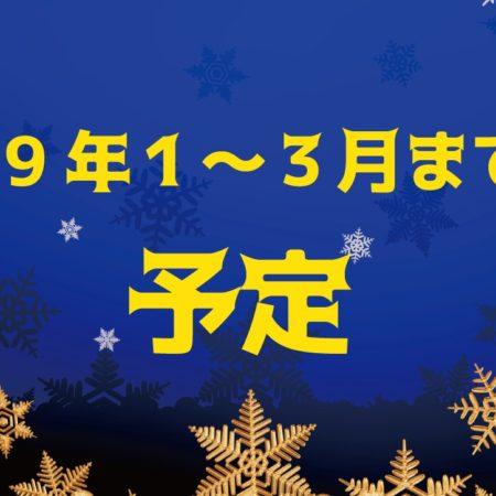 三重スポーツ鬼ごっこ愛好会2019年1-3月までの予定